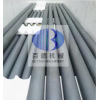 Cheap Silicon Carbide Pipe / SISIC Roller Good Wear Resistance For Sanitary Ceramic for sale