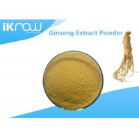 Cheap Natural Supplement Raw Materials Plant Ginseng Extract Powder For Nutrient for sale