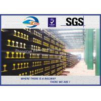 Quality BS11:1985 British Standard Railway Steel Crane Rail For Guide Train Wheels wholesale