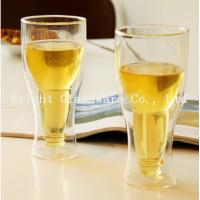 China top popular double wall beer glass for wholesale on sale