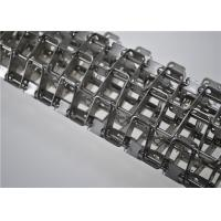 Buy cheap Stainless Steel Honeycomb Wire Mesh Conveyor Belt Flat Wire Belt Customized Size from wholesalers