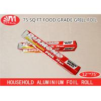 15 Micron Thickness Aluminium Foil Paper Roll For Food Wrapping Packaging Baking