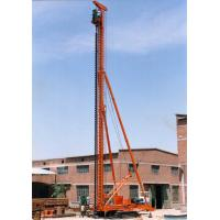 Cheap Vibration Low Power Head Drilling System / Long Auger Pile Driver for Engineering wholesale