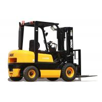 Cheap Yellow 2 Ton Diesel Powered Forklift Ruck With Japanese Engine / Steady Belt for sale