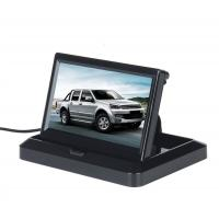 Cheap 5'' Foldable Car Rear View Monitor Compact Structure Easy Installation for sale