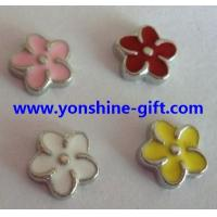 Cheap Colorful Flower Floating Loacket Charms Italian Charms For DIY Floating Lockets Accessories From YonShine-Gift.com for sale