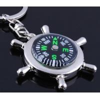 Cheap wholesale outdoor gear compass keychains for sale