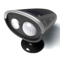 new outdoor cordless motion activated pir solar lamps. Black Bedroom Furniture Sets. Home Design Ideas