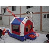 Cheap Mini Bouncy Castle with Dog mini dog castle for sale