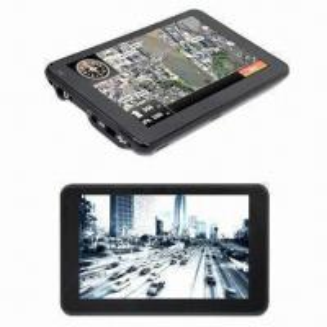 Cheap GPS + DVR car navigation system, measures 135.4x84x13mm for sale