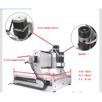 Cheap mini 3020 200w cnc router with rotary axis for sale