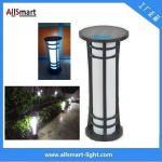 Cheap H60cm Energy Saving Super Power Ip65 Waterproof Aluminium Housing Garden Decorative Lamp Solar Lawn Light for sale