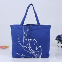 Cheap Promotional Cheap Printed Heavy Duty Cotton Handles Canvas Bag Tote Bag for sale