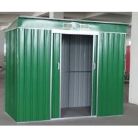 Cheap metal roof portable garage / flat roof metal shed for sale
