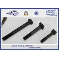 Quality ISO Steel 45 High Tensile Black Railway Bolt for Fastening Rails wholesale