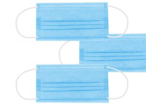 Cheap In Stock Non Woven Meltblown Fabric Disposable 3 Ply Earloop Mask for sale