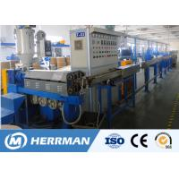 Cheap 1000m / Min Line Speed Pvc Cable Extruder Machine For 1.5-16mm2 WIth PLC Control for sale