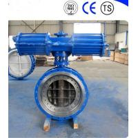 Cheap Pneumatic Metal Seat Butterfly Valves DN300 PN10 For Industrial Waste Water for sale