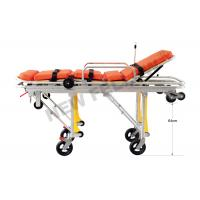 China Flexible Heavy Duty Detachable Big Wheels Ambulance Stretcher Chair Trolley on sale
