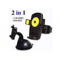 Cheap 2 In 1 Sets Vehicle Cell Phone Holder , Multi-Function Universal Car Bike Holder for sale
