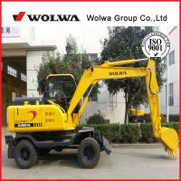 Factory Supplier Wheeled Excavator Dls880 9a With Import