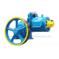 Cheap Professional Vvvf Motor Elevator Traction Machine , Load 300~408kg for sale