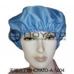 Cheap Not Raising Dust Clean Room Garments Germicidal Elastic ESD Anti Static Hat for sale