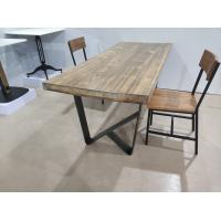 Buy cheap Cast Iron Table Base Table Frame Industrial Table support Sturdy Dining table from wholesalers