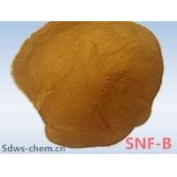 China Instrial Chemical concrete additive Naphthalene Superplasticizer with light brown normal portland cement on sale