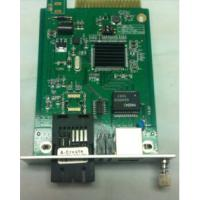 Cheap LFP 10M / 100M / 1000M Media Converter Internal Power , Card Type for sale