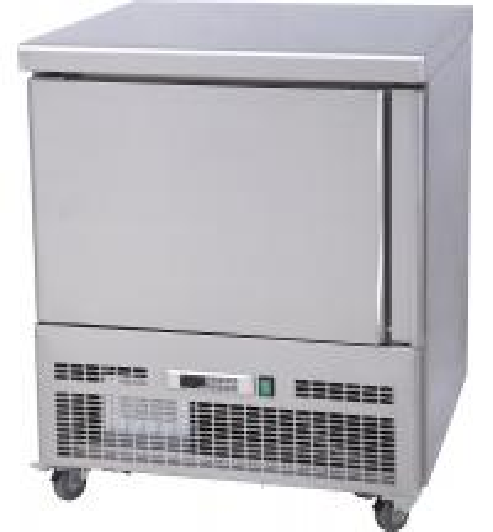 Kitchen Upright Commercial Blast Chiller Freezer For