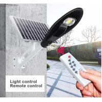 Cheap Smart Control Solar Powered LED Street Lights 3000 - 6500K CCT Easy Install for sale