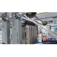 Cheap User-friendly Man-machine Interface , Servo Control Film Shrink Wrapping Machine 120 Package Per Minute for sale