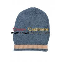 Cheap men and women knitting winter pure cashmere beanie hats for sale