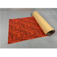 Cheap Cold Peel Metallic Vinyl Rolls Superior Red Color Anti - Counterfeiting Function for sale