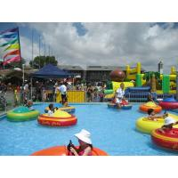 Animated Huge Inflatable Bumper Boat For Pool Game In Swimming Pool With Certificate Of Bumper