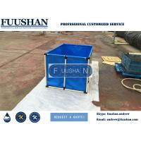 China Fuushan  0.5m3 5000L PVC Suqare Water Tank for Koi or Fsh-Farming on sale
