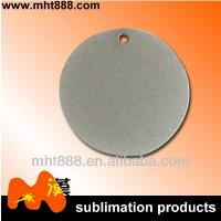 Buy cheap Round Personalized Dog Tags For Boyfriend , Metal Gold Dog Chain Necklace from wholesalers
