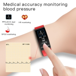 Cheap H8 ECG PPG Heart Rate Monitor Fitness Tracker Smart bracelet blood pressure monitor smart watch SPO2 Fitness Tracker for sale