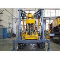 Cheap Yellow Spindle Crawler Core Drilling Rig , Drilling Diameter 75 - 800mm for sale