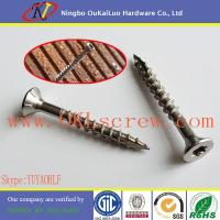 Cheap Stainless Steel Torx Drive Terrace Screw for sale