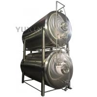 Cheap 1000l 2000l horizontal bright beer tank / beer maturation tank for sale