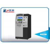 Buy cheap Indoor freestand self ordering kiosk with thermal printer for visitor from wholesalers