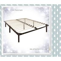 China Wooden Slat Bed with Headboard Footboard Queen on sale
