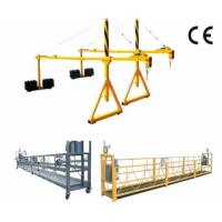Cheap 800 Rated Load Rope Steel Suspended Window Cleaning Platform with Dipping Zinc wholesale