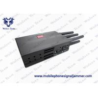 China Mobile Phone 3G Signal Jammer , GPS Jamming Device With High Capacity Battery on sale