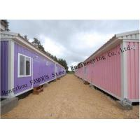 Cheap Modified Shipping Container House Prefab Mobile Homes With Insulation Panels Easy Installation for sale