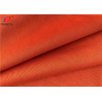 Cheap Plain Dyed Polyester Tricot Knit Fabric , Mercerized Plain Cloth For Garment for sale