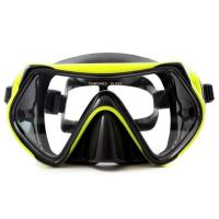Buy cheap Dry Snorkel Anti-Fog Anti-Leak Design Diving Mask Reef Explorer Swimming Goggles with Anti-Fog and UV Protection from wholesalers