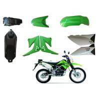 Cheap Plastic Motorbike Waterproof Cover , KLX125 Motorcycle Fairing Kits OEM Service for sale